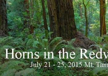 Horns in the Redwoods 2015