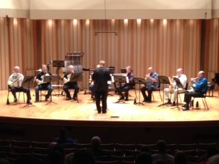 Dr. G with Horn Ensemble, International Horn Society Symposium
