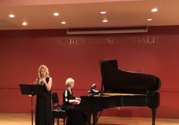 Master's Recital – Sara Aronson