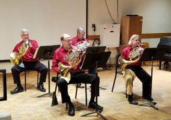 Horn Quartet Performs at UCSB