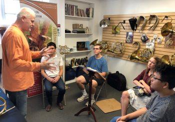 Visit to Atkinson Brass